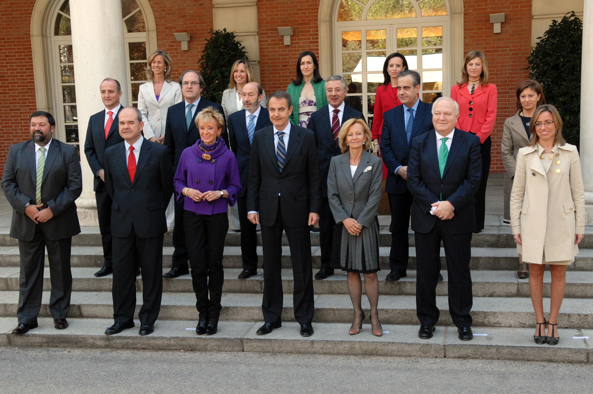 Nuevo gobierno en espa a juan sainz de los terreros for Foto del ministro del interior