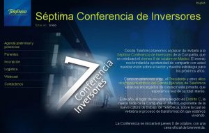 Investor Day TEF (2009)