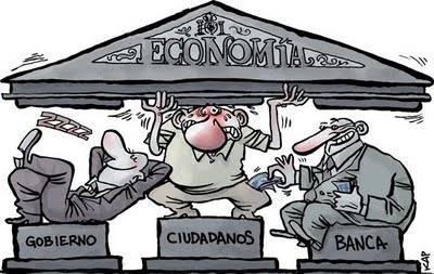 Los tres pilares de la economía