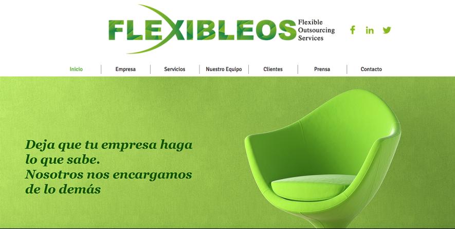 flexibleos web home