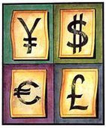 dollar-yen-euro-pound