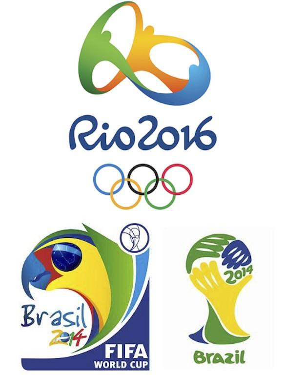 Brasil mundial 2014 olimpiadas 2016