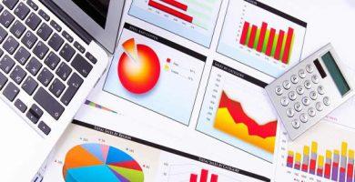 valoracion de empresas graficos y calculadora