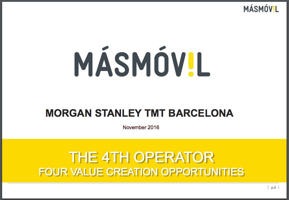 Morgan stanley tmt conference 2019 barcelona