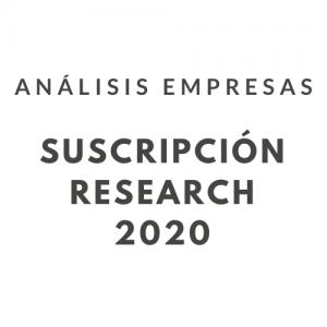 Suscripción 2020